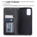Capa de Couro Samsung Galaxy S20 Ultra Preto