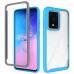 Capa Samsung S20 Duas Camadas Azul Claro