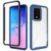 Capa Samsung Galaxy S20+ Duas Camadas Azul
