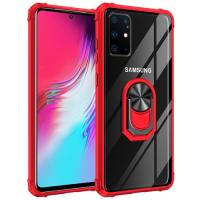 Capa com Anel de Suporte Samsung S20 Ultra Vermelho