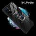 Capa Galaxy S20+ Antichoque Transparente com Suporte Vermelho