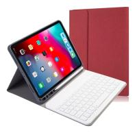 Capa Teclado Bluetooth para iPad Pro 11 2020 Vermelho