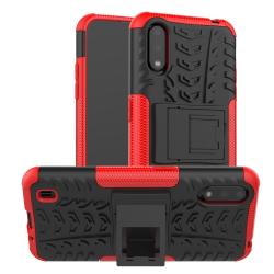 Capa Samsung A01 TPU com Suporte Vermelho