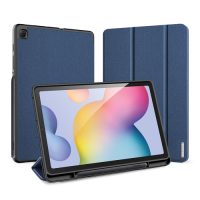 Capa Samsung Tab S6 Lite P615/P610 Domo Series Azul