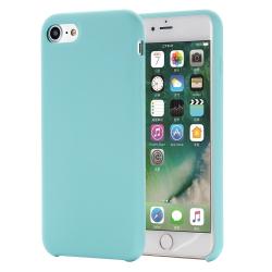 Capa iPhone SE 2020 Silicone Azul Claro