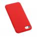 Capa iPhone SE 2020 Silicone Vermelho