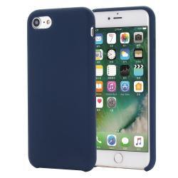 Capa iPhone SE 2020 Silicone Azul Escuro