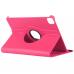Capa para iPad Pro 12.9 2020 Couro Flip 360 Rosa