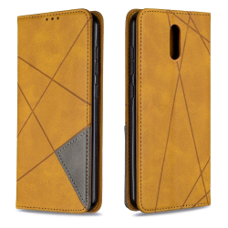 Capa Nokia 2.3 Flip de Couro Amarelo