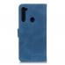 Capa Motorola Moto G8 Couro Azul