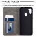 Capa de Couro Samsung Galaxy A11 Cinza