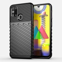 Capa Samsung Galaxy M21s TPU Thunderbolt Preto