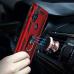 Capa Motorola One Hyper com Anel de Suporte Vermelho