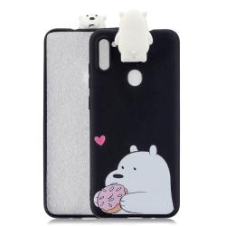Capa Samsung Galaxy A11 Urso Branco