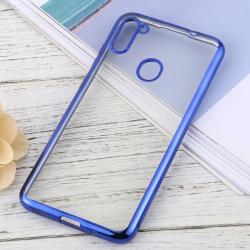 Capa para Samsung A11 TPU Transparente Azul