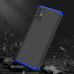 Capa Samsung A51 3 Partes de Encaixe Preto-Azul