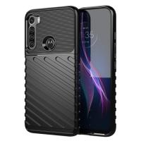 Capa Motorola One Fusion+ Plus TPU Thunderbolt Preto