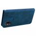 Capa Samsung M21s Flip Couro Azul