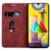 Capa Samsung Galaxy M31 de Couro Marrom