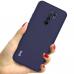 Capa de Silicone Redmi 9 Azul Escuro
