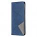 Capa Redmi 9 de Couro Azul