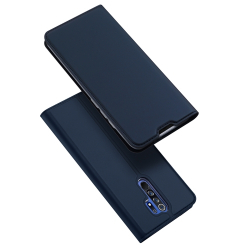Capa Xiaomi Redmi 9 Skin Series de Couro Azul