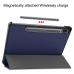 Capa Samsung Tab S7 T875 Flip Azul