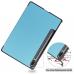 Capa Samsung Tab S7 T875 Flip Azul Claro