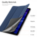 Capa Samsung Tab A7 Domo Series Azul