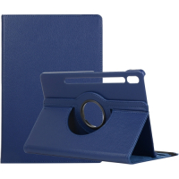Capa Galaxy Tab S7 T875 Giro 360 e Suporte Azul