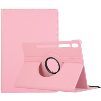 Capa Galaxy Tab S7 T875 Giro 360 e Suporte Rosa