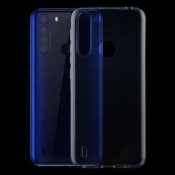 Capa Motorola One Fusion Silicone Transparente