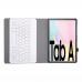 Teclado Bluetooth e Capa Samsung Tab A7 T500 Dourado