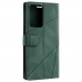 Capa de Couro para Samsung Galaxy Note 20 Ultra Verde