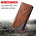 Capa de Couro para Samsung Galaxy Note 20 Ultra Marrom