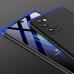 Capa em 3 Partes para Samsung Note 20 Preto-Azul