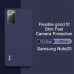 Capa Samsung Note 20 Silicone IMAK Azul