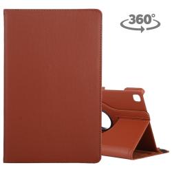 Capa Galaxy Tab A7 Giro 360 Marrom