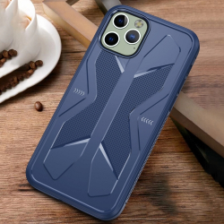 Capa Design X TPU iPhone 12 Azul