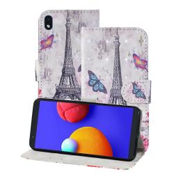 Capa Galaxy A01 Core de Couro Torre Eiffel