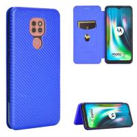 Capa Motorola Moto G9 Play Flip Azul
