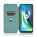 Capa Motorola Moto G9 Play Flip Verde