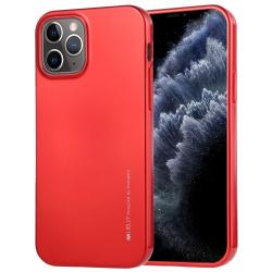Capa iPhone 12 TPU i-Jelly Vermelho