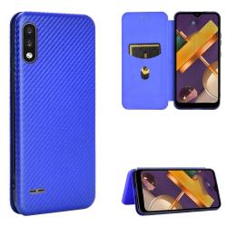 Capa LG K22 / K22+ Plus Flip Azul
