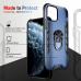 Capa iPhone 12 Mini com Anel de Suporte Azul