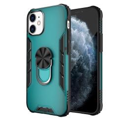 Capa iPhone 12 Mini com Anel de Suporte Verde