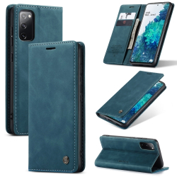 Capa Samsung S20 FE Couro Flip Verde
