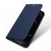 Capa de Couro iPhone 12 Pro Skin Pro Series Azul