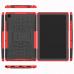 Capa Samsung Tab A7 TPU e Plástico Vermelho