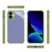 Capa para iPhone 12 Botão Colorido Azul